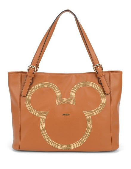 Bolsa Feminina De Ombro Mickey Mouse Bmk 78428