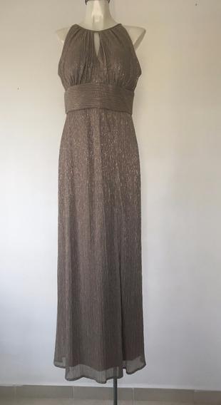 Vestido De Noche R&m Richards Mod. Vdrl-036