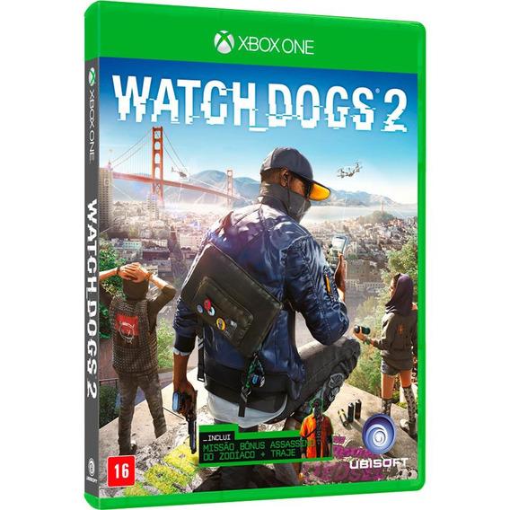 Watch Dogs 2 (mídia Física 100% Em Pt-br) Xbox One