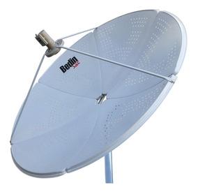 Antena Parabólica De Chapa Bedinsat 150 Cm Banda C E Ku