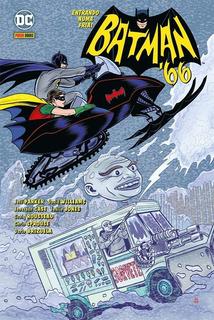 Hq - Batman 66. Entrando Numa Fria - Capa Dura
