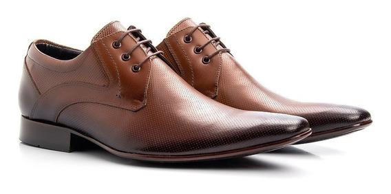 Sapato Social Classe Fino Masculino Couro Legítimo Moda