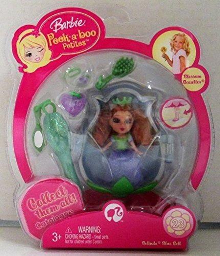 Barbie Petites # 23 De La Flor De Bellezas Belinda Blue Bell
