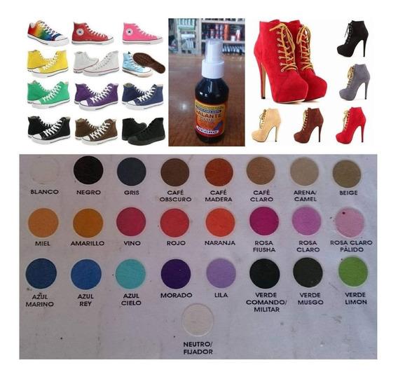 Cómo pintar zapatos de gamuza Tinte zapatos de gamuza