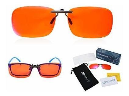 Imagen 1 de 7 de Clip En 999% Gafas De Bloqueo De Luz Azul Para Mujeres U Hom
