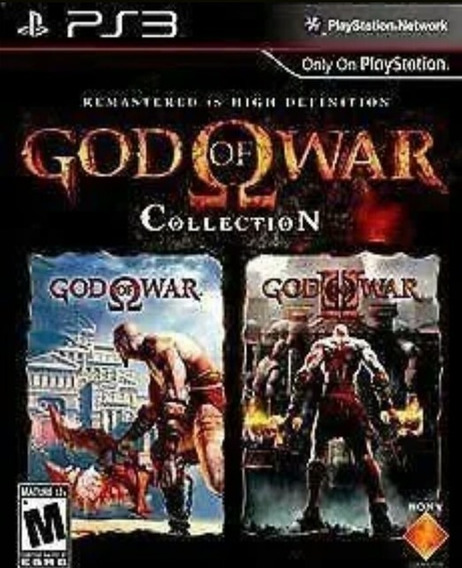 God Of War Collection Ps3 ( God 1 E 2 ) Play3 Jogo Comprar