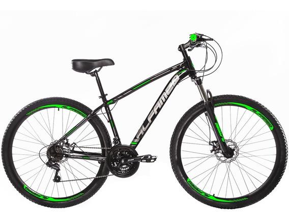 Bicicleta Aro 29 Alfameq Zt 27 Vel Fd Hidráulico Susp Trava