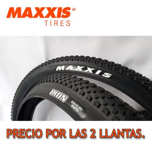 Imagen 1 de 10 de 2 Llantas Maxxis Ikon 29*2.20- Bicicleta Mtb