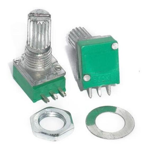 Potenciometro Pcb Mini Mono 20k Lineal 15mm
