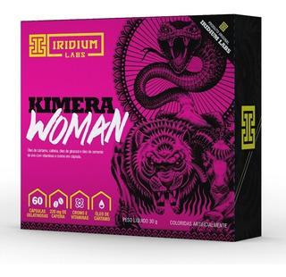 Kimera Woman 60 Cáps - Termogênico - Emagrecedor - Definição