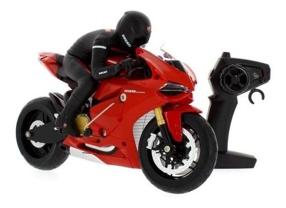 Moto R/c Ducati Panigale Int Xq-003317 Original Blumen