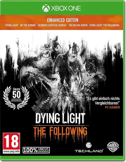 Jogo Dying Light Enhanced Edition The Following Xbox One