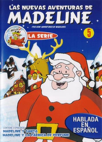 Imagen 1 de 3 de Las Nuevas Aventuras De Madeline Volumen 5 Cinco Serie Dvd