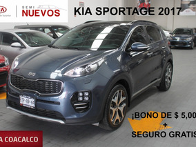Kia Sportage 5 Pts Sxl 4x2 Ta A/ac Aut. Piel Camara Reversa