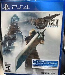 Final Fantasy Vii Remake Nuevo Sellado +dlc Ps4