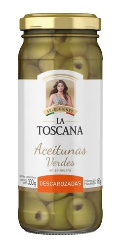 Aceitunas Verdes Descarozadas La Toscana