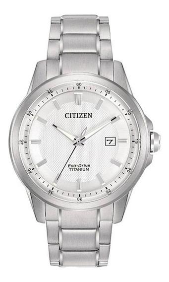 Reloj Citizen Eco-drive Original Con Fechador Aw1490-50a