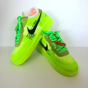Nike Air Force 1 Off-white Volt