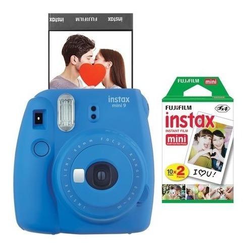 Kit Pacote Filme Instax Fujifilm 20 Filmes Fotos