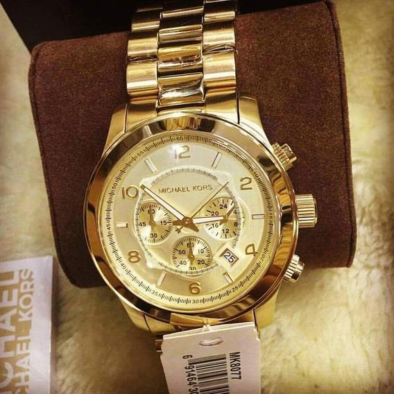 Relógio Michael Kors Mk8077 100% Original 2 Anos De Garantia
