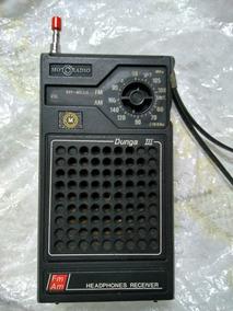 Rádio Portátil Motoradio Dunga 3 Conservado