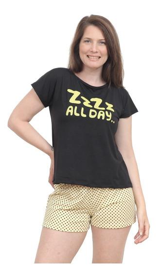 Pijama Verano Talle Grande Y Amplio Mujer 671