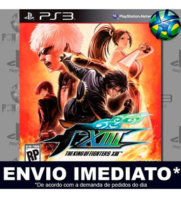 Jogo Ps3 The King Of Fighters Xiii 13 Psn Play 3 Digital