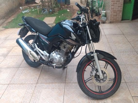 Fan 160 Preta Honda