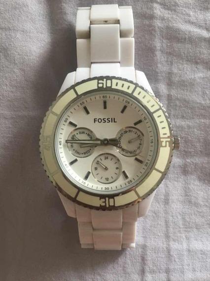 Relógio Fossil - Branco - Original