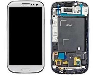 Tela I9300 S3 Display Touch Screen Samsung Original ,branco