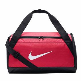 Bolsa Feminina Nike Brasilia Duffel Small Rosa 40 L Original
