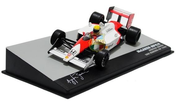 Mclaren Mp4/4 1988 Ayrton Senna 1:43 Ixo Lendas Brasileiras