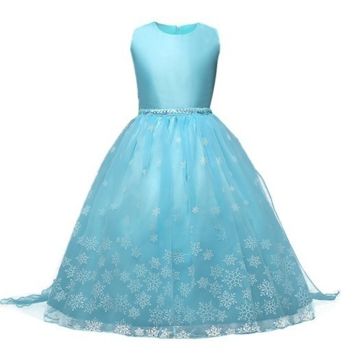 Fantasia Vestido Princesa Elsa Frozen