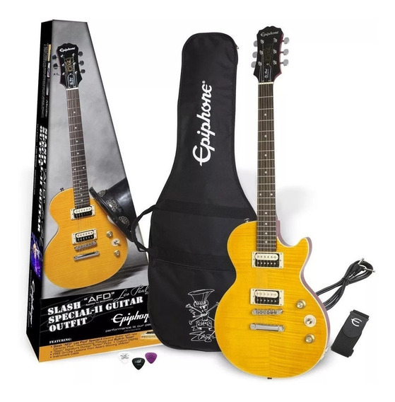 Guitarra EpiPhone Afd Slash Signature Les Paul