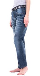Jean Boyfriend Mujer - Blue Air Jeans