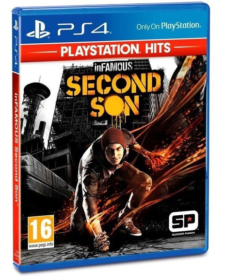 Novo Jogo Infamous Second Son Para Pps4 Hits