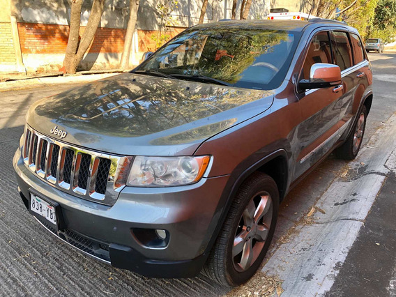 Jeep Grand Cherokee Overland 4x4 Mt 2012