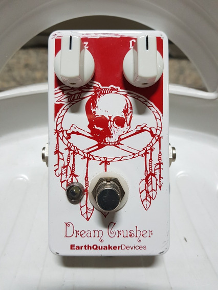 Pedal Earthquaker Devices Dream Crusher Fuzz - Conservadao!!