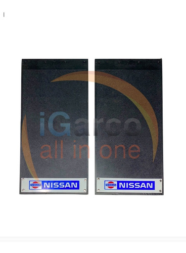 Loderas Camioneta Estaquitas Nissan Larga X 2 Piezas