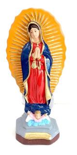Imagem Escultura Nossa Senhora De Guadalupe 20 Cm Gesso