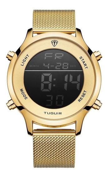 Relógio Masculino Feminino Tuguir Esportivo Digital Original