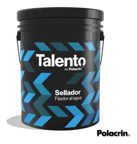 Sellador Fijador Al Agua 10 Lts Interior Exterior Polacrin