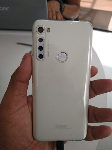 Celular Motorola Onde Fusion Plus Branco 128 Gb