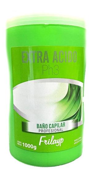 Baño Capilar Extra Acido Frilayp X 1000 Gr