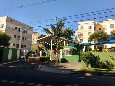 Apartamento Em Condomínio Alvorada Ii, Valinhos/sp De 56m² 2 Quartos Para Locação R$ 1.000,00/mes - Ap220517