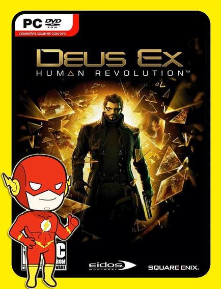 Deus Ex Human Revolution Pc - Steam Key (envio Flash)