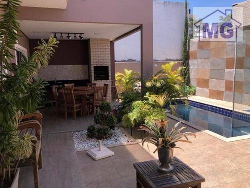Imagem 1 de 19 de Casa Com 3 Dormitórios À Venda, 274 M² Por R$ 1.100.000,00 - Vale Dos Cristais - Macaé/rj - Ca0281