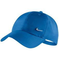 1f7d1682f26ee Boné Nike Nsw Cap Metal Swoosh Aba Curva Loja Tênis Preto