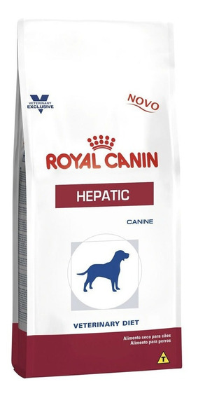 Ração Royal Canin Veterinary Hepatic - Cães Adultos 10,1