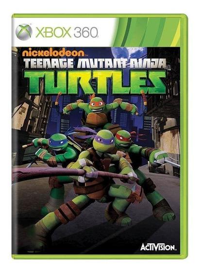 Teenage Mutant Ninja Turtles Xbox 360 Mídia Física
